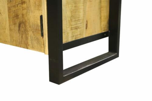 Dressoir Iron Wood Deluxe - 145 cm - Mangohout bij Jeha de Meubelconcurrent