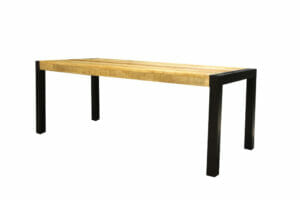 Jeha Home Collection Eetkamertafel Iron Wood Deluxe – Mangohout