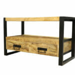 Jeha Home Collection TV meubel Iron Wood Deluxe – 102 cm – Mangohout