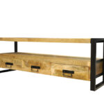 Jeha Home Collection TV meubel Iron Wood Deluxe – 160 cm – Mangohout