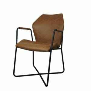 Jeha Home Collection Eetkamerstoel Boomer – Cognac