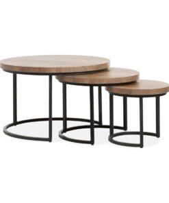 Driedelig Salontafel Set - Hugo