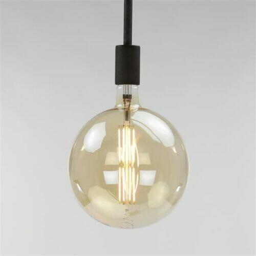 Lichtbron LED - Bol - Amber bij Jeha de Meubelconcurrent