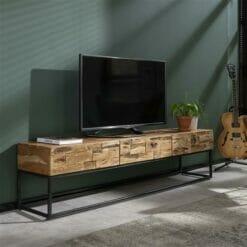 TV-meubel Mill - 3 lades bij Jeha de Meubelconcurrent
