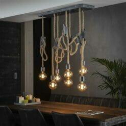 Hanglamp Mustang - 7 lampen bij Jeha de Meubelconcurrent