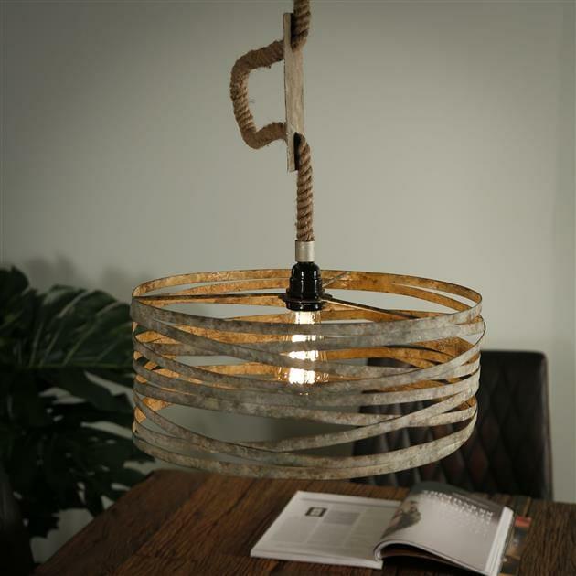 Hanglamp Met Touw.Hanglamp Twist Touw 1 Lamp