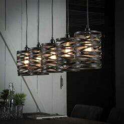 Hanglamp Twist - 5 lampen bij Jeha de Meubelconcurrent