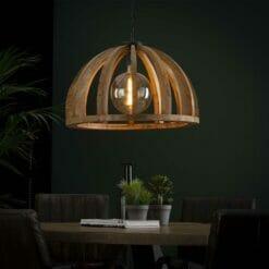Hanglamp Dome - Mangohout bij Jeha de Meubelconcurrent