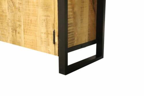 Vitrinekast Iron Wood Deluxe bij Jeha de Meubelconcurrent