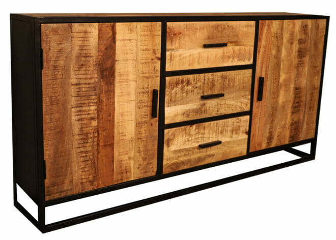 Jeha Home Collection Dressoir Mangohout Deluxe – 150 cm
