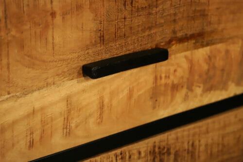 Dressoir Mangohout Deluxe 150 cm bij Jeha de Meubelconcurrent