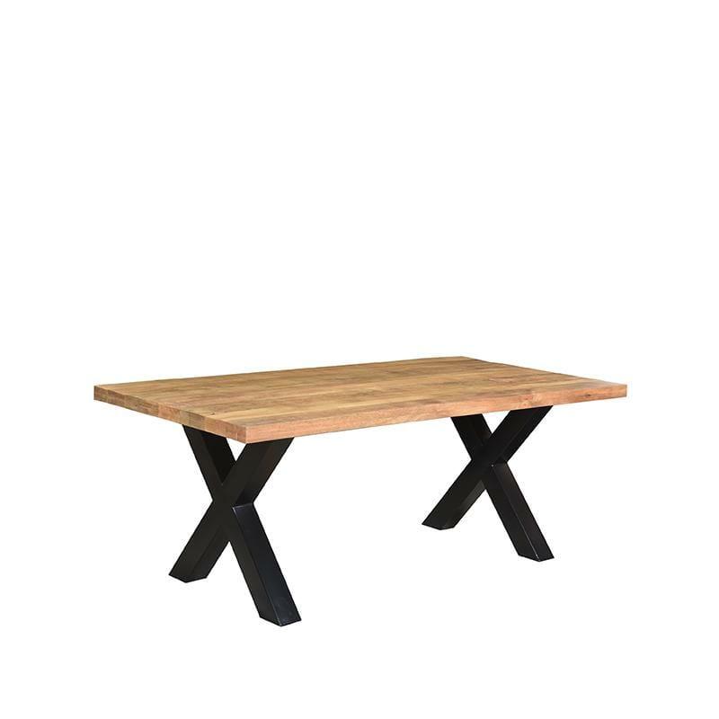 Label 51 Eettafel Zino – Rough – Mangohout – 200×100 cm