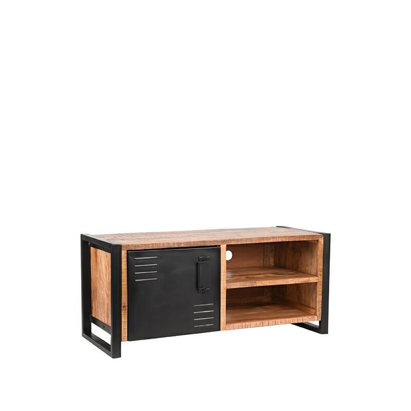 """<span class=""""brand_prefix"""">Label 51</span> Tv-meubel Brussels – Rough – Mangohout – 115 cm"""