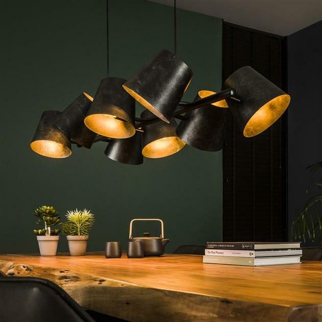 """<span class=""""brand_prefix"""">Rich Home</span> Hanglamp Studio – 8 lampen"""