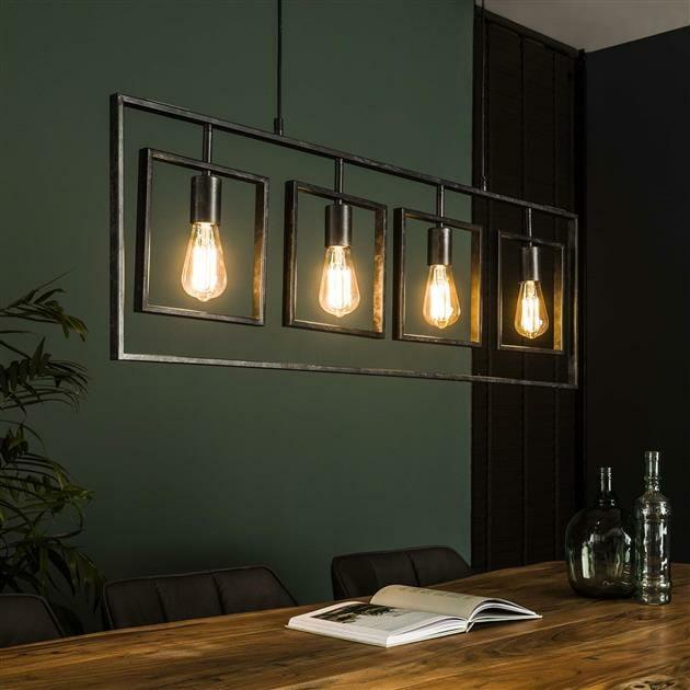 "<span class=""brand_prefix"">Rich Home</span> Hanglamp Frame – 4 lampen"