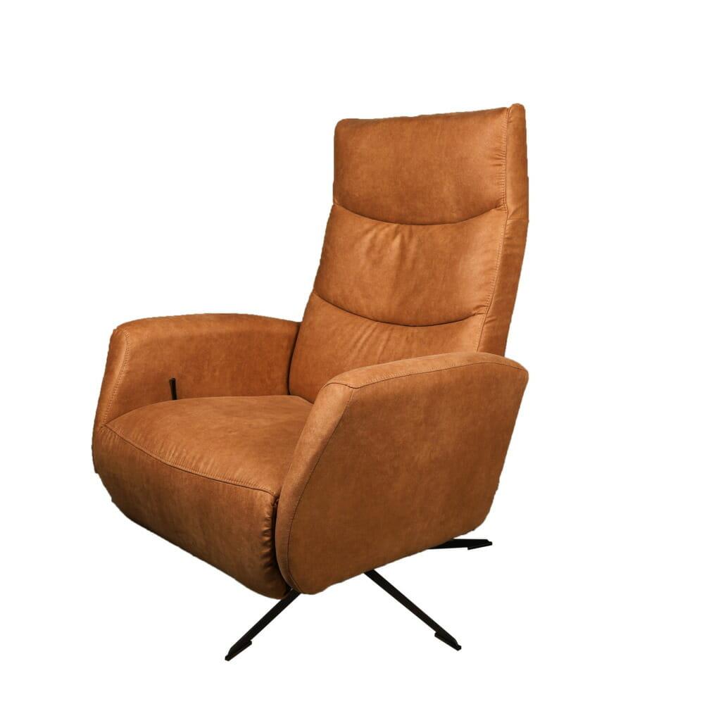"<span class=""brand_prefix"">Jeha Home Collection</span> Elektrische Relaxfauteuil Ivaldi – Cognac"