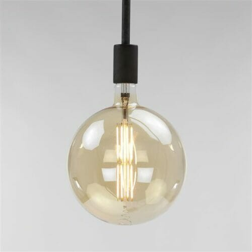 Lichtbron LED Bol - 8W 2100K 480lm - Dimbaar - Amber bij Jeha de Meubelconcurrent